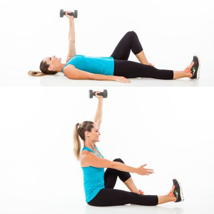 How to get Amazing Abs: Weighted Roll Up