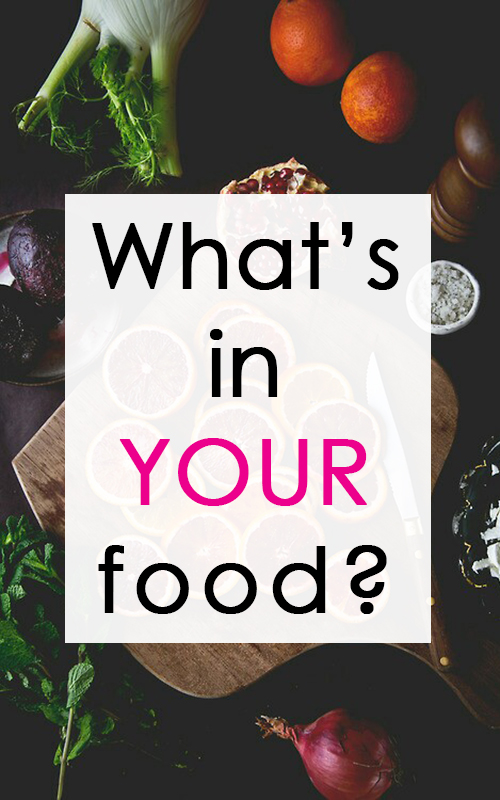 Do you Know What's in your Food?