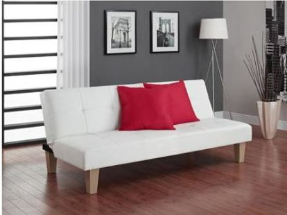 What You'll Need in Your First Apartment: walmart aria futon sofa bed