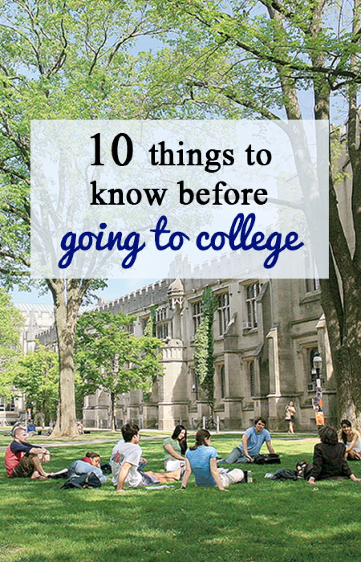 10 things to know before college pin