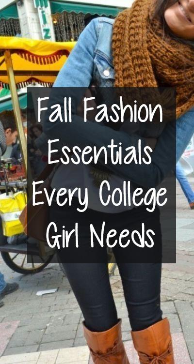Fall fashion Essentials :)