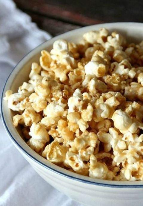 Popcorn provide whole grains, fiber ans antioxidants.
