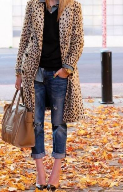 Leopard is a neutral pattern that gives the right amount of print to an outfit.