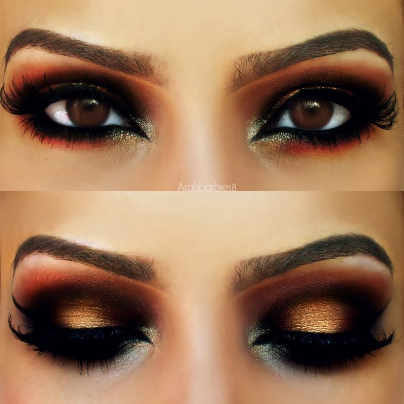 Great makeup advice for brown eyes!