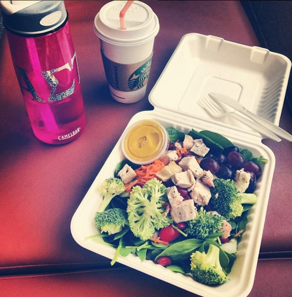 Eating on campus can be healthy!