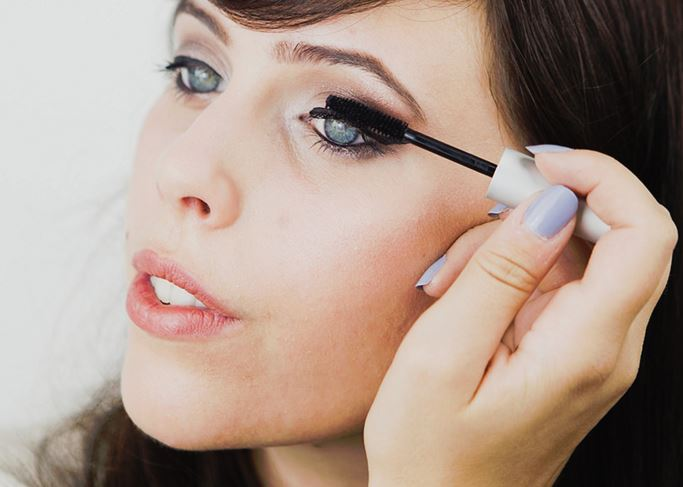 Apply mascara as a final step. If you use waterproof mascara try not rub your eyelashes aggressively when removing it.