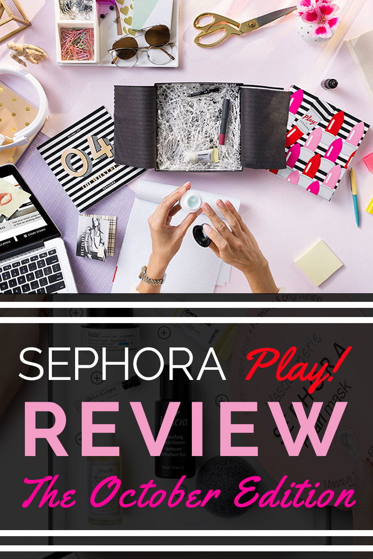Sephora Play!, Sephora Play! Review: October Edition