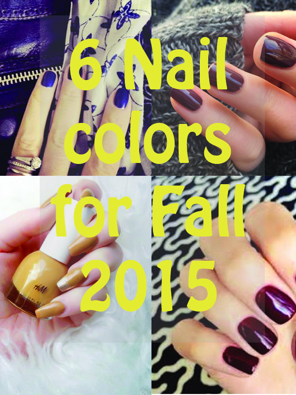To make sure you're on trend with the season's favorites, here are 6 nail colors you should don this fall!