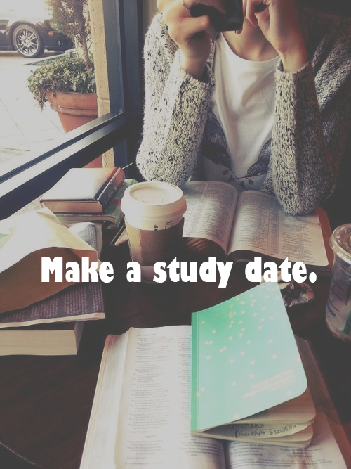 Make a study date!