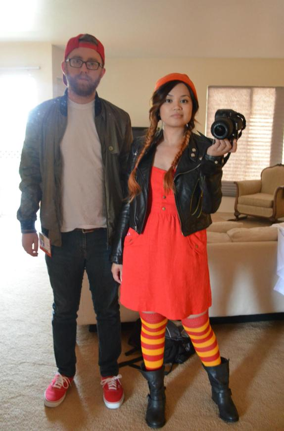 TJ and Spinelli is such a fun couples Halloween costume idea!