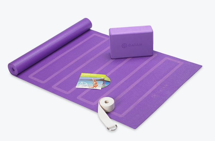 Awesome yoga kit for beginners.