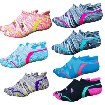 colorful running socks