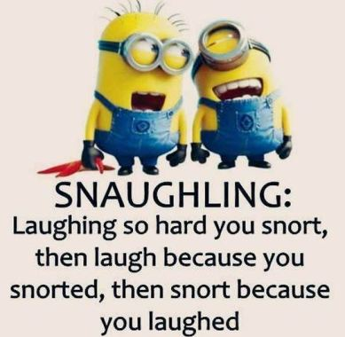 these minions laughing are so cute!