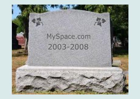 MySpace is dead