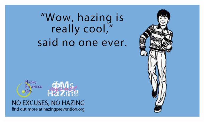 hazing is not cool