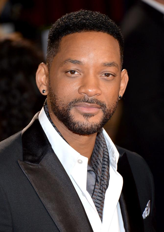 Will smith is looking great with his Movember look