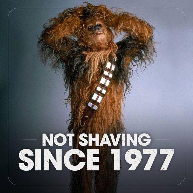 Not shaving