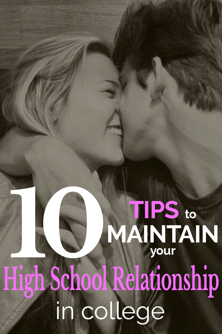 10 Tips to Maintain Your High School Relationship in College
