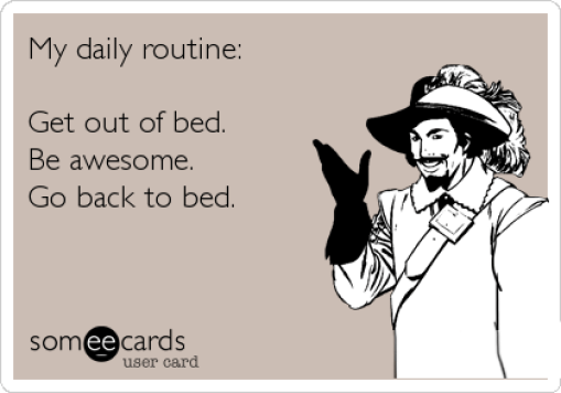 funny routine
