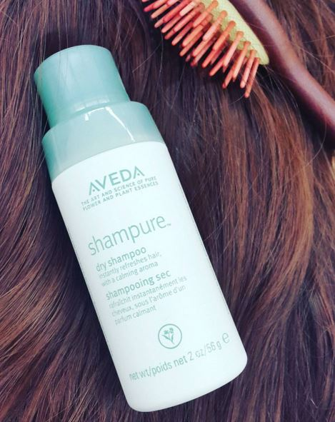 Using dry shampoo will keep your hair fresh.