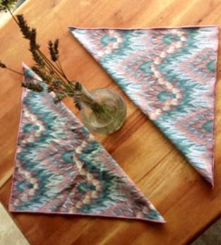 Linen napkins are more eco-friendly and elegant than regular napkins.