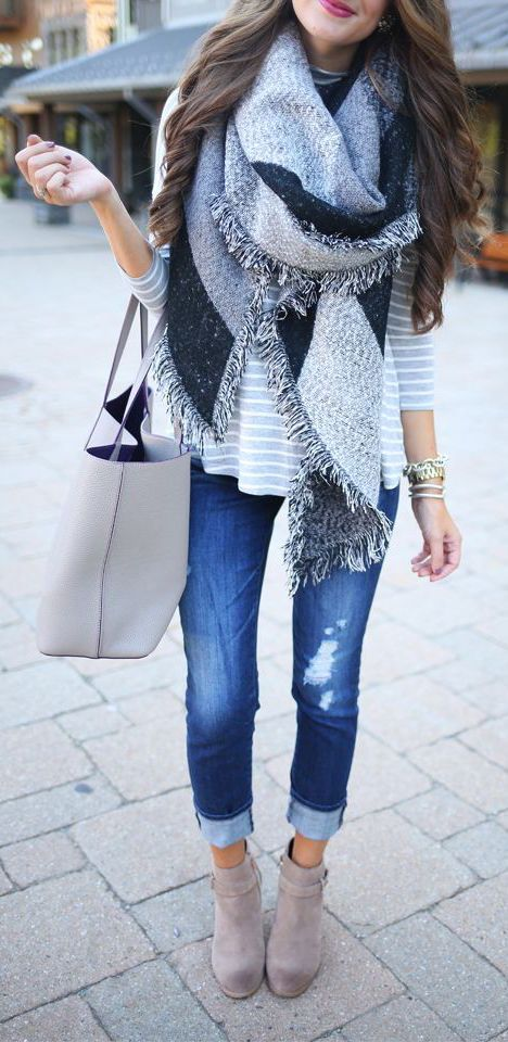 scarves can make any outfit look better