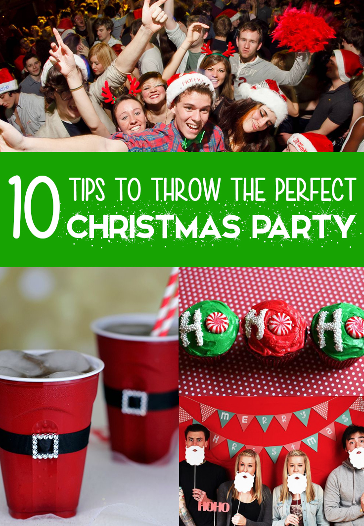 Christmas party, 10 Tips on How to Throw the Perfect Christmas Party