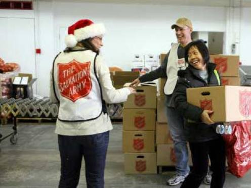 holiday volunteering