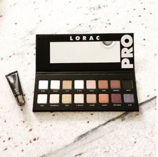 The Maybelline Nudes Palatte is a great dupe for the Lorac Pro Palette!