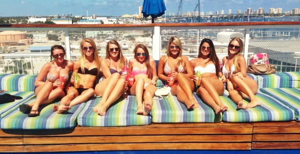 The best part about college spring break is being able to go on a spring break cruise with friends. There are so many deals for cheap spring break cruises to choose from with awesome parties.