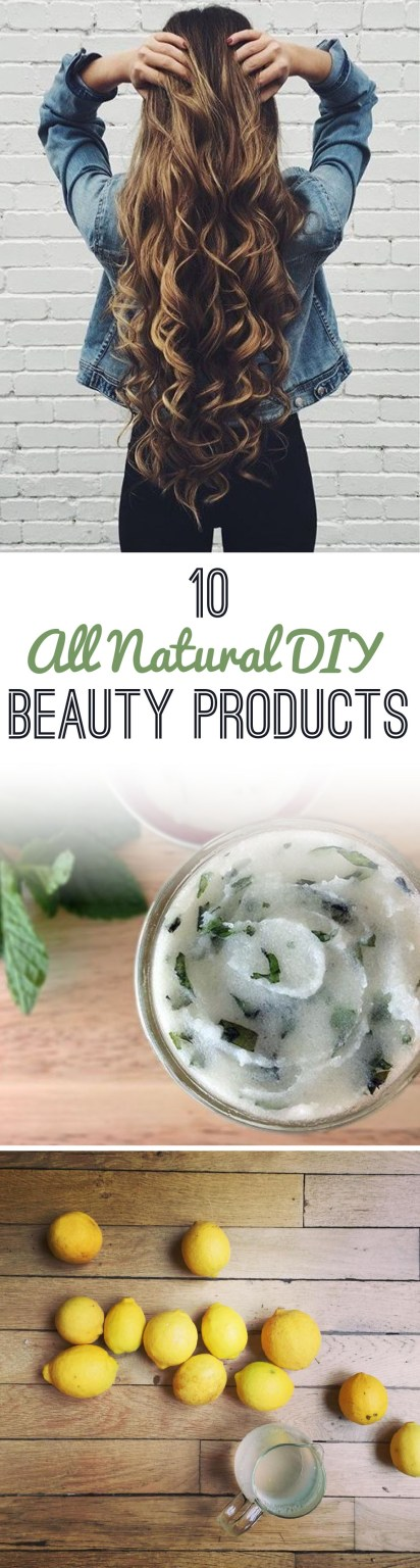 These are the best DIY all natural beauty products!