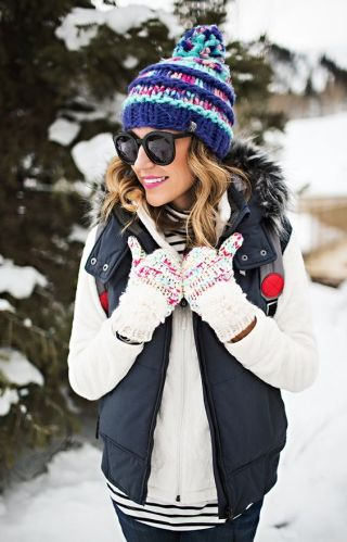 I love this cute winter beanie!
