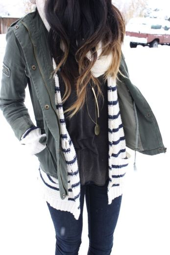 This winter jacket is so cute!