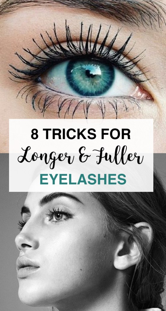 These are the best tips and tricks to longer and fuller eyelashes!