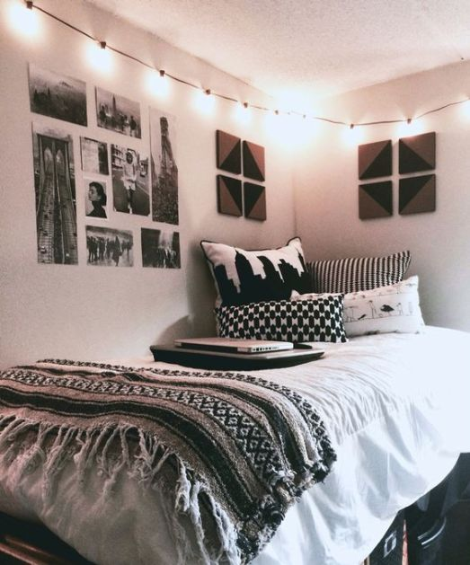 This is one of the best dorm room decor ideas to try out!