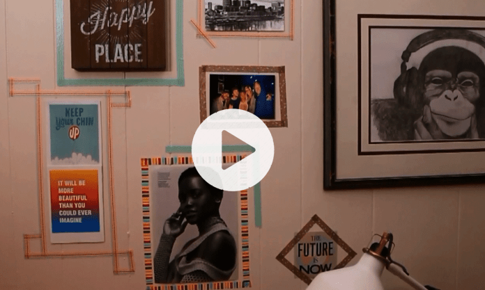 How To Decorate Your Dorm With Washi Tape Wall Art - Society19