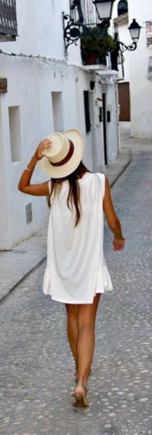 cute panama hat for spring