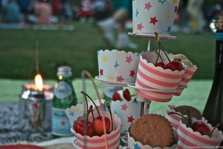 a cute picnic at Tanglewood