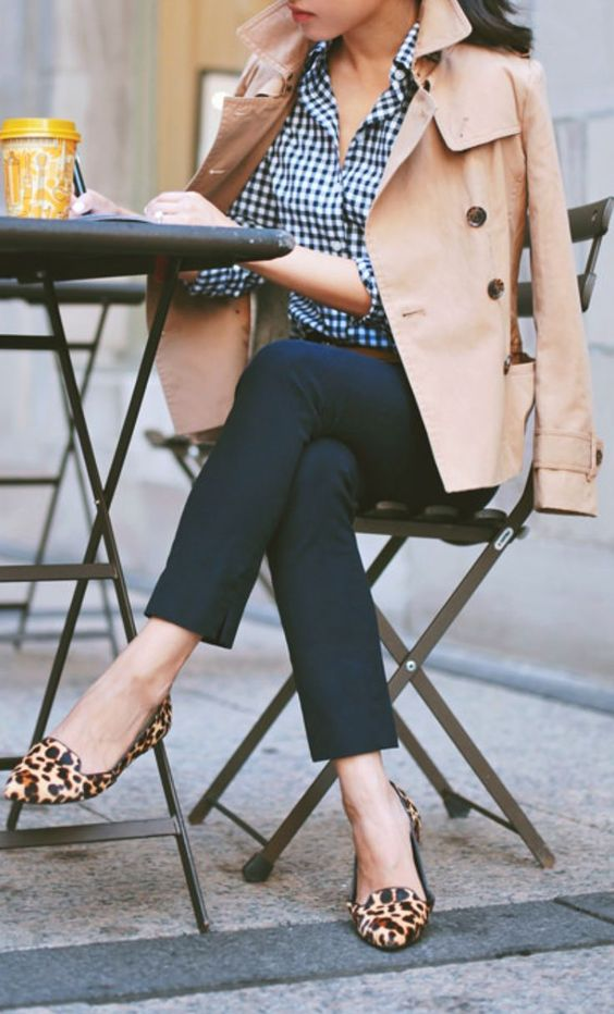 Every fashion savvy girl needs a trench coat.