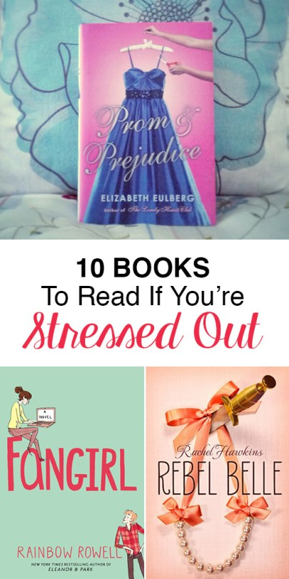 These are the books you need to read if you're stressed!