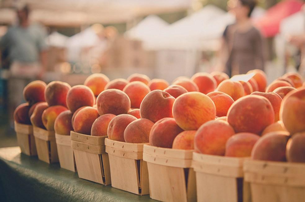 yummy fresh peaches!