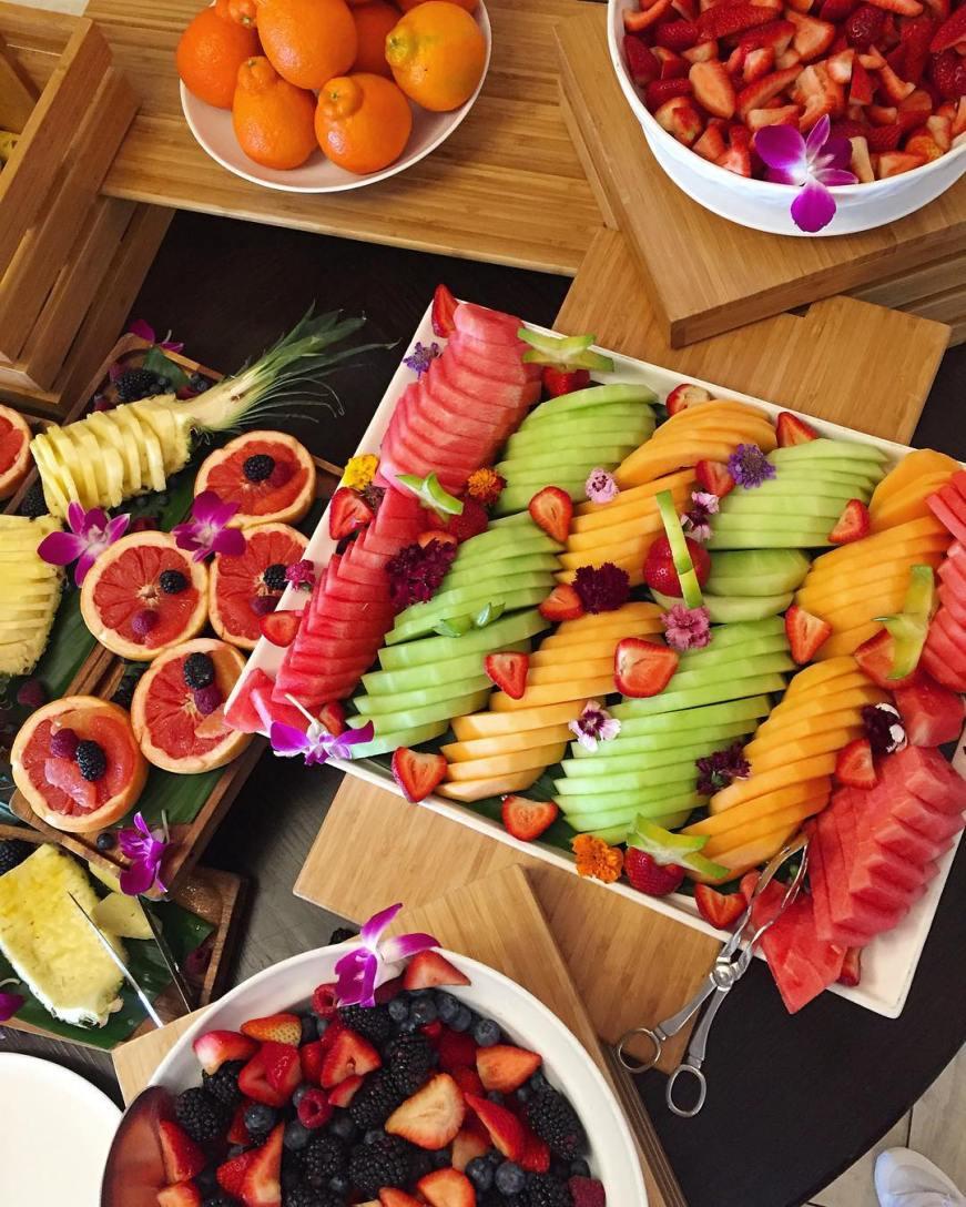 yummy and healthy fresh fruit