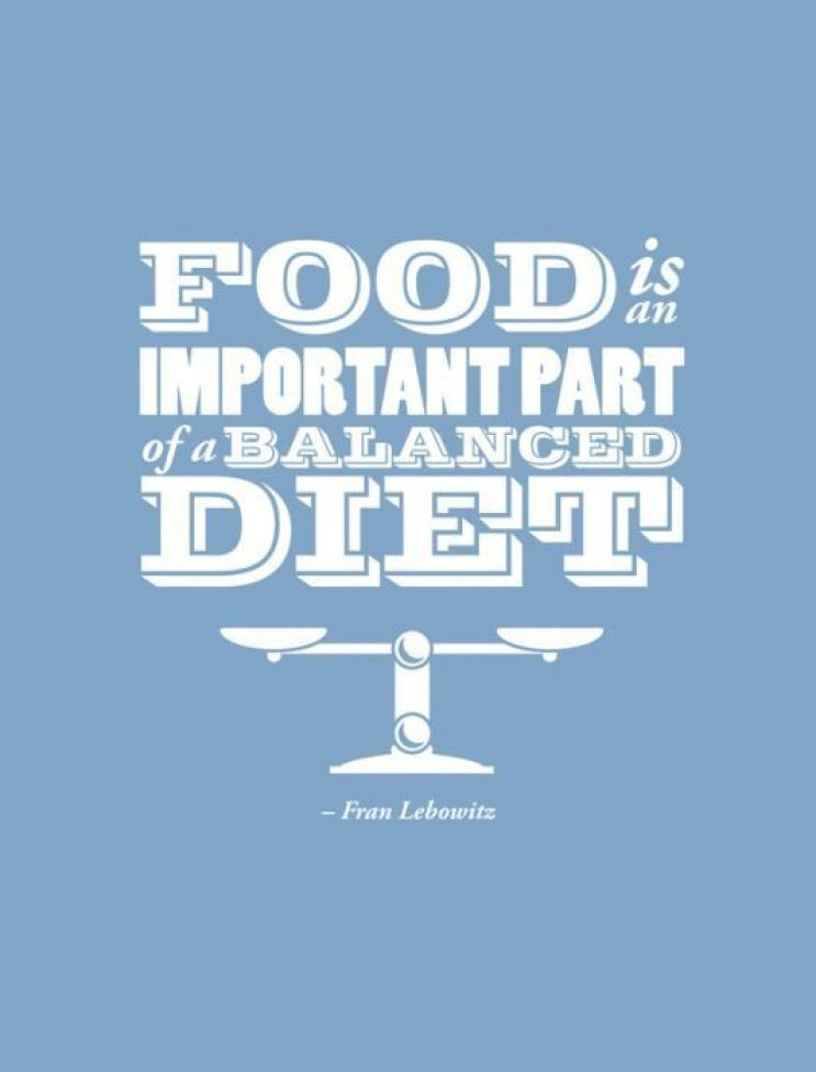 cool food quote