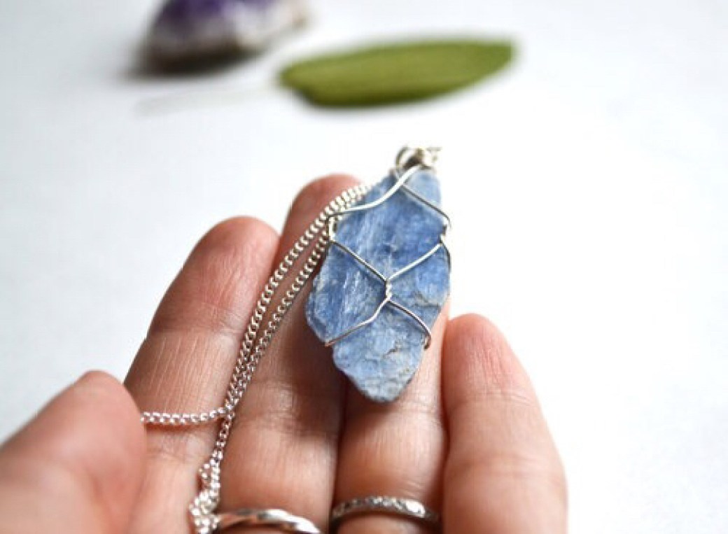 cool necklace stone