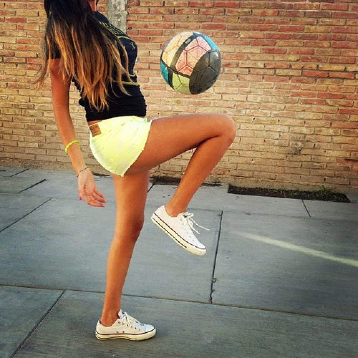 cute soccer outfit