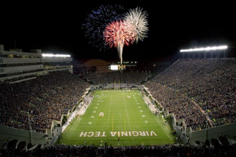 cool VT stadium pic