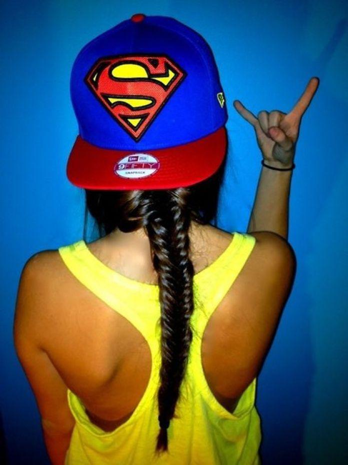 cool superman hat