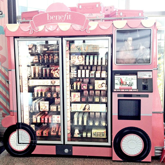 cool Benefit vending machine
