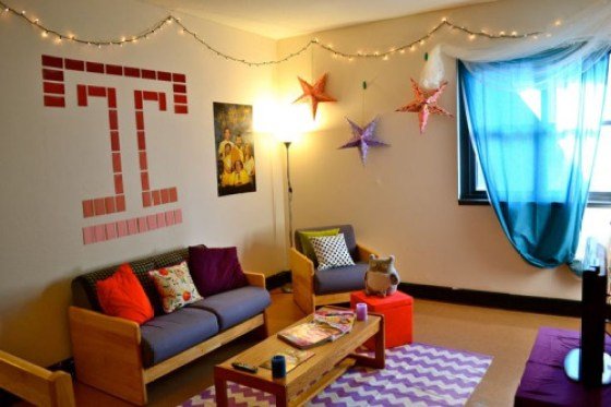 Temple rooms for dorm decor inspiration!