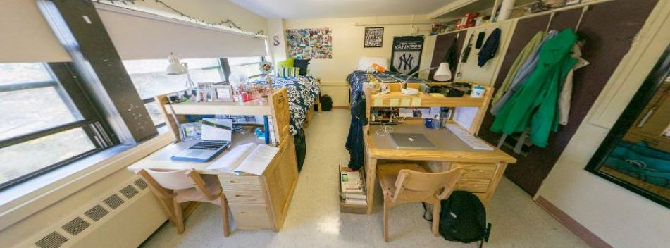 dorms at PC